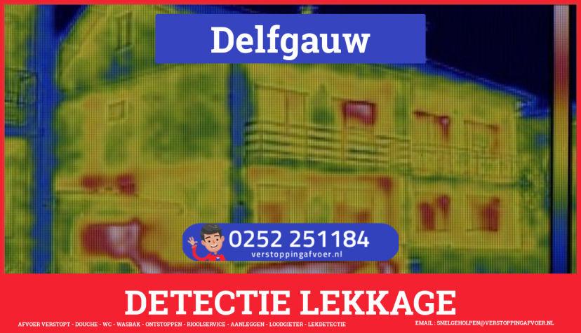 eb rioolservice lekdetectie in Delfgauw