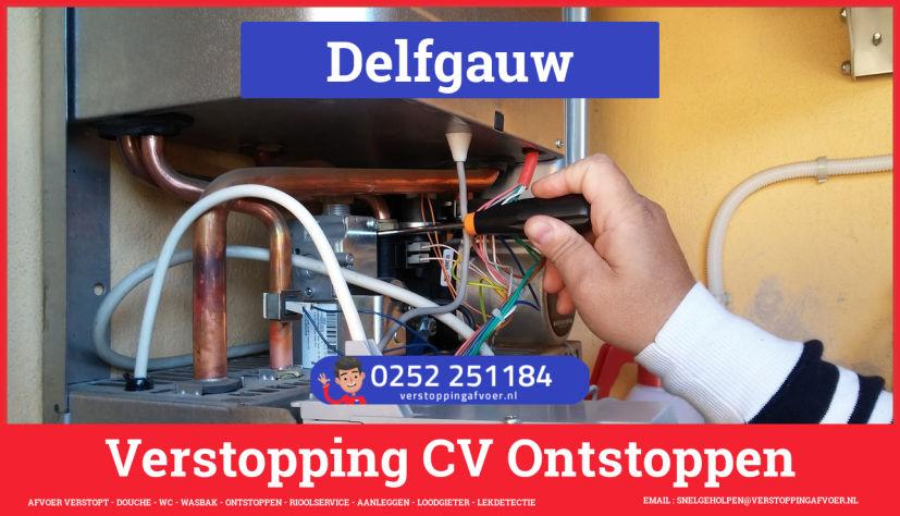 rioolservice afvoer verstopt cv in Delfgauw