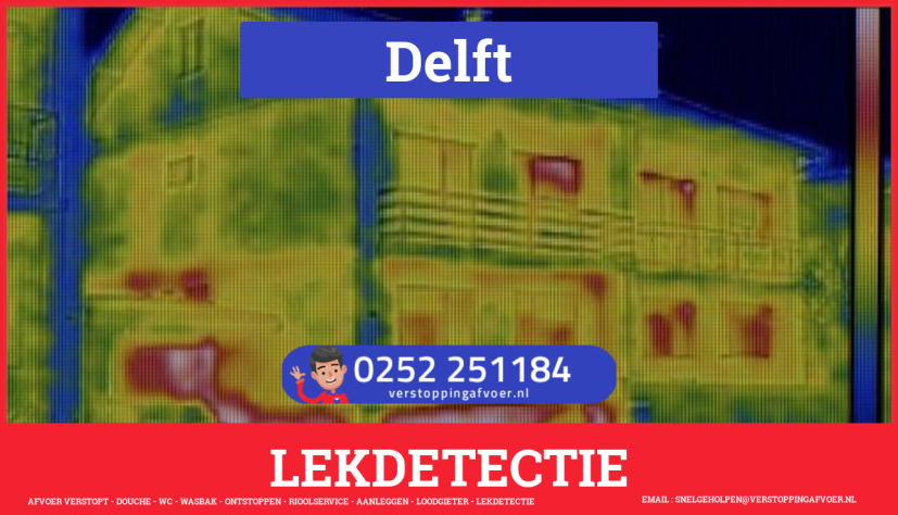 eb rioolservice lekdetectie in Delft