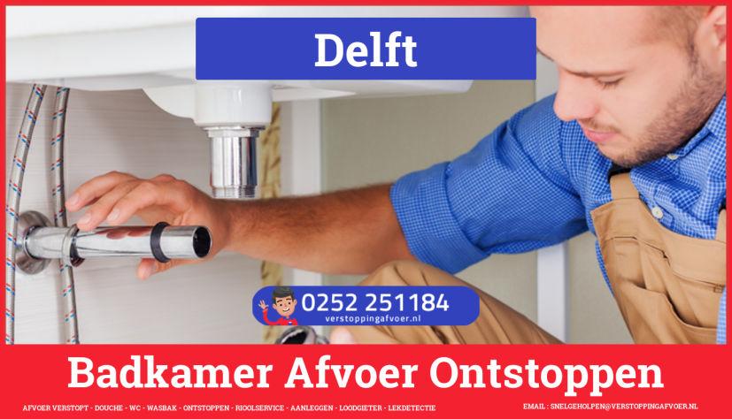 Verstopping? Afvoer Verstopt Delft   0252251184 - JB ...