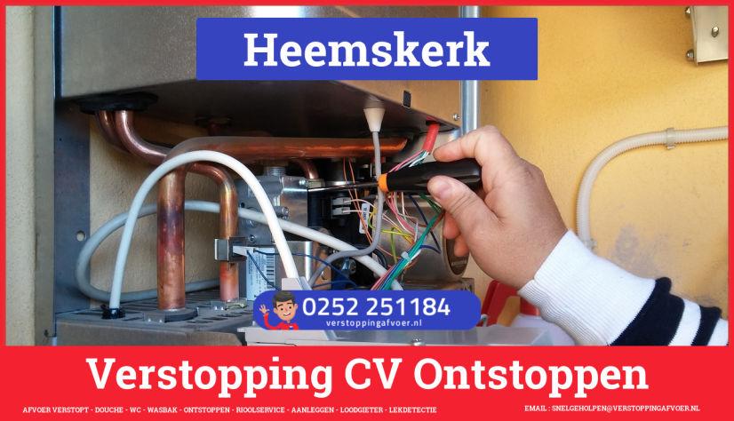 rioolservice afvoer verstopt cv in Heemskerk