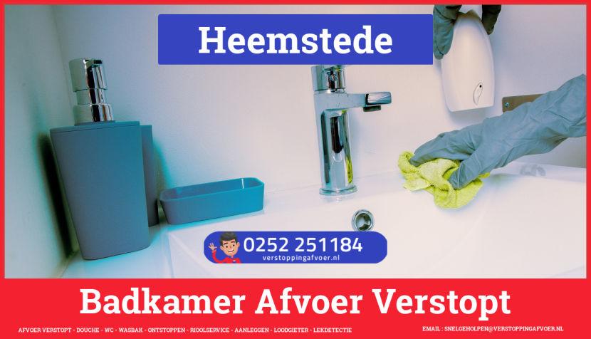 WC Gootsteen Afvoer Verstopt Heemstede 🚨 1e 1/2 uur €59,- 0657233744