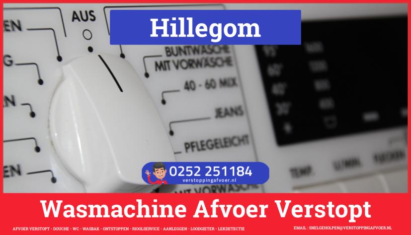 rioolservice afvoer ontstoppen wasmachine in Hillegom
