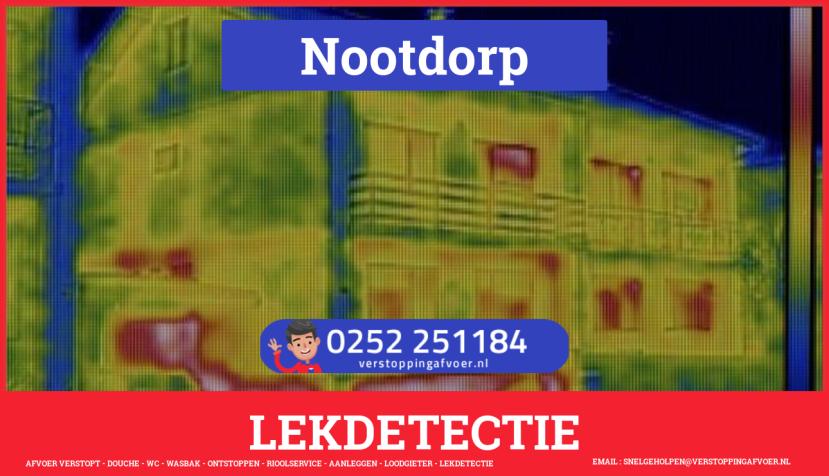 eb rioolservice lekdetectie in Nootdorp