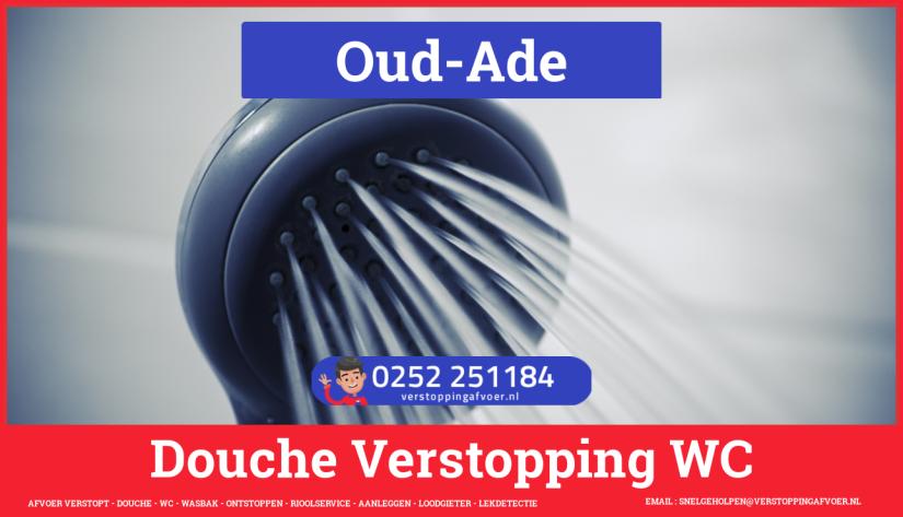Doucheputje ontstoppen Oud-Ade