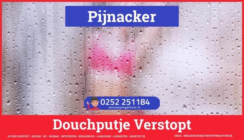 Doucheputje ontstoppen Pijnacker
