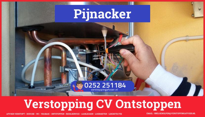 rioolservice afvoer verstopt cv ketel in Pijnacker