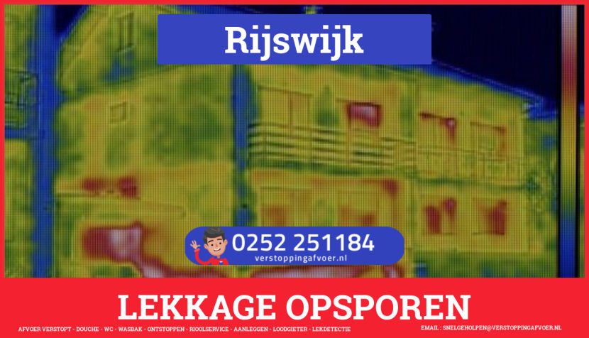 eb rioolservice lekdetectie in Rijswijk