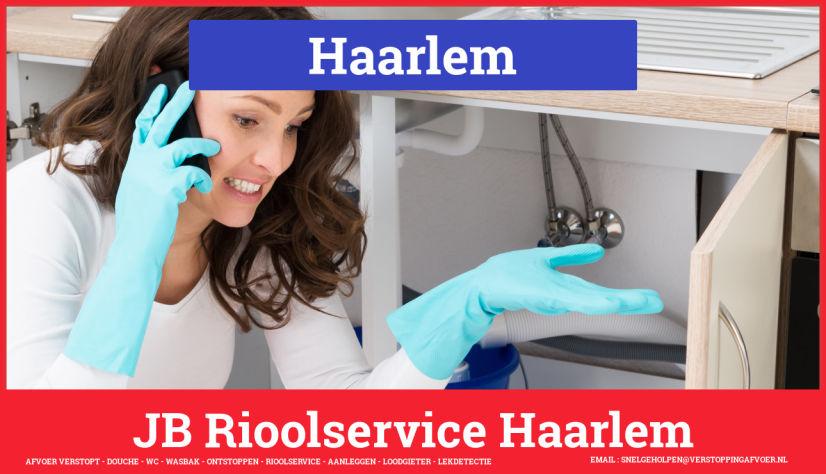 Afvoer Verstopt Rioolservice Haarlem
