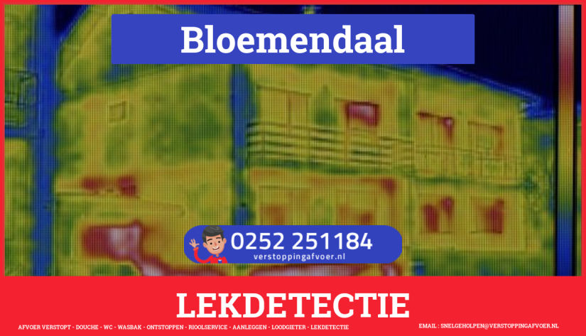 eb rioolservice lekdetectie in Bloemendaal