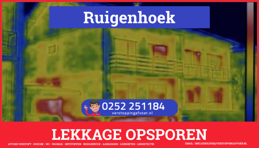 eb rioolservice lekdetectie in Ruigenhoek