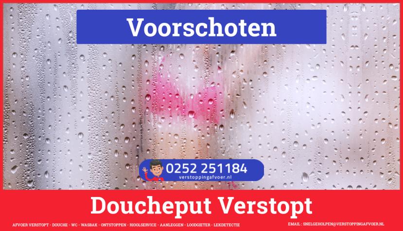 Doucheputje ontstoppen Voorschoten