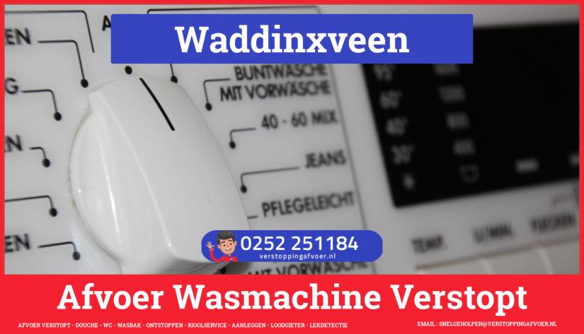 rioolservice wasmachine afvoer ontstoppen in Waddinxveen