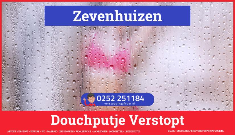 Doucheputje ontstoppen Zevenhuizen