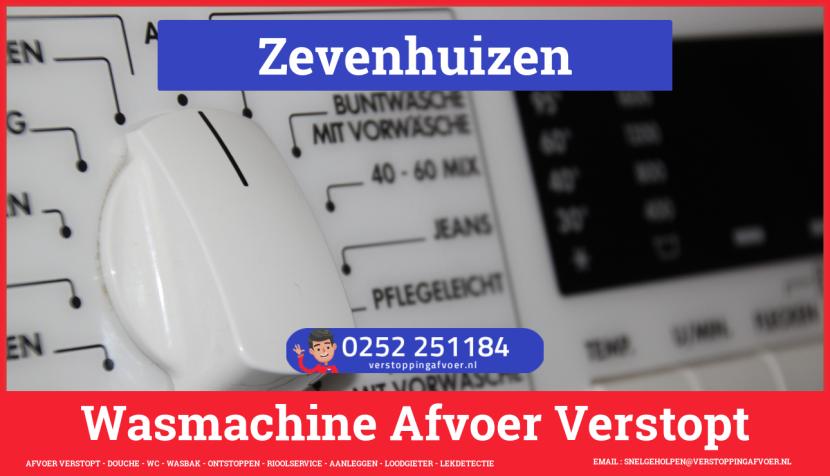rioolservice wasmachine afvoer ontstoppen in Zevenhuizen