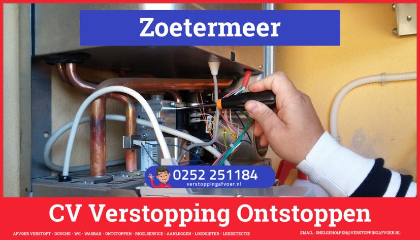 rioolservice afvoer verstopt cv in Zoetermeer