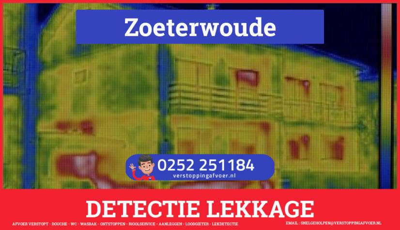 eb rioolservice lekdetectie in Zoeterwoude