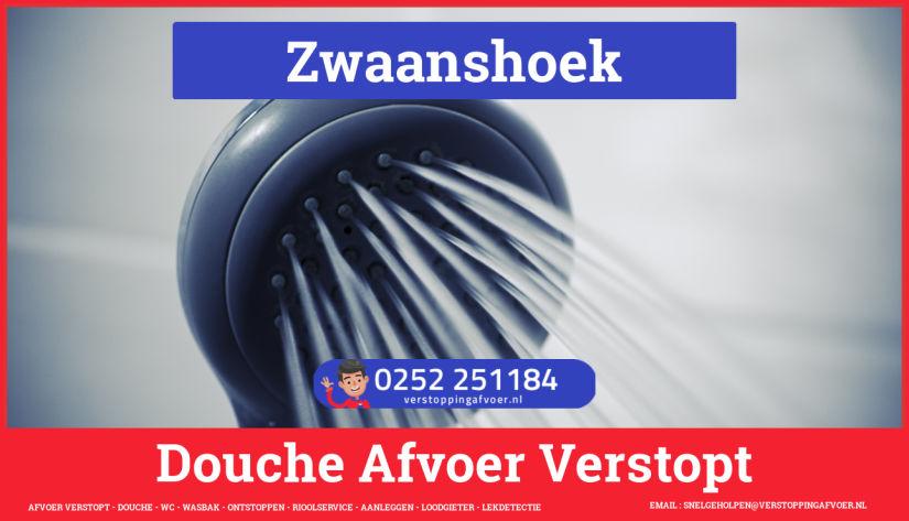 Doucheputje ontstoppen Zwaanshoek