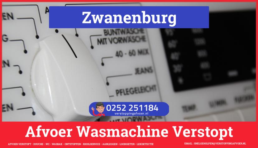 rioolservice afvoer ontstoppen wasmachine in Zwanenburg