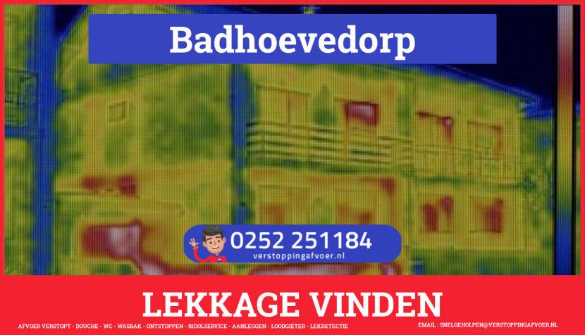eb rioolservice lekdetectie in Badhoevedorp
