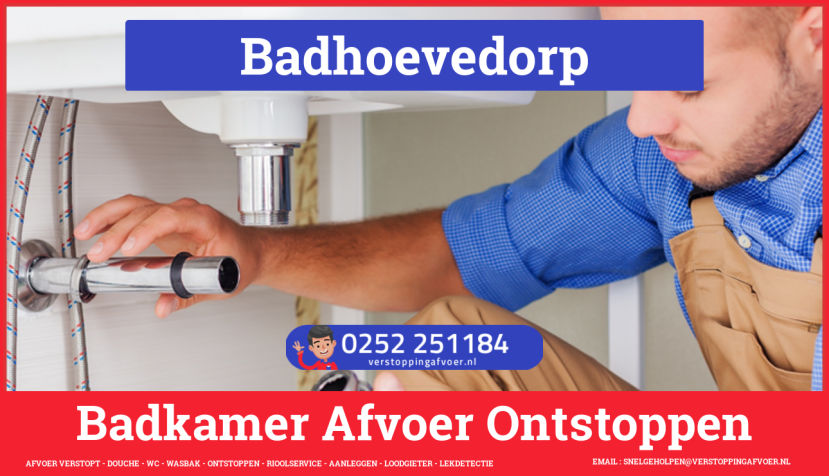 Verstopping? Afvoer Verstopt Badhoevedorp | 0252251184 - JB ...