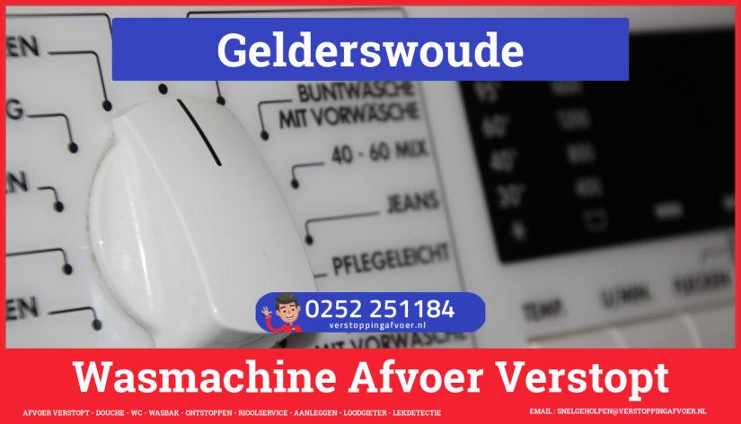 rioolservice afvoer ontstoppen wasmachine in Gelderswoude