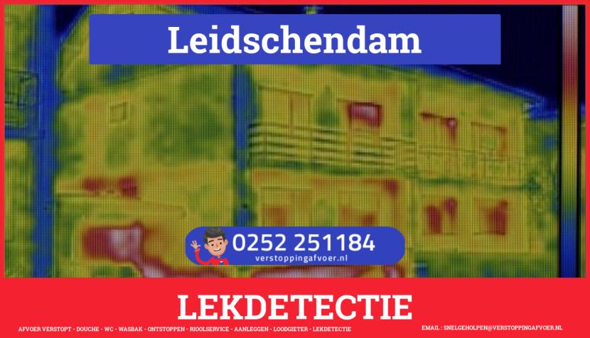 eb rioolservice lekdetectie in Leidschendam