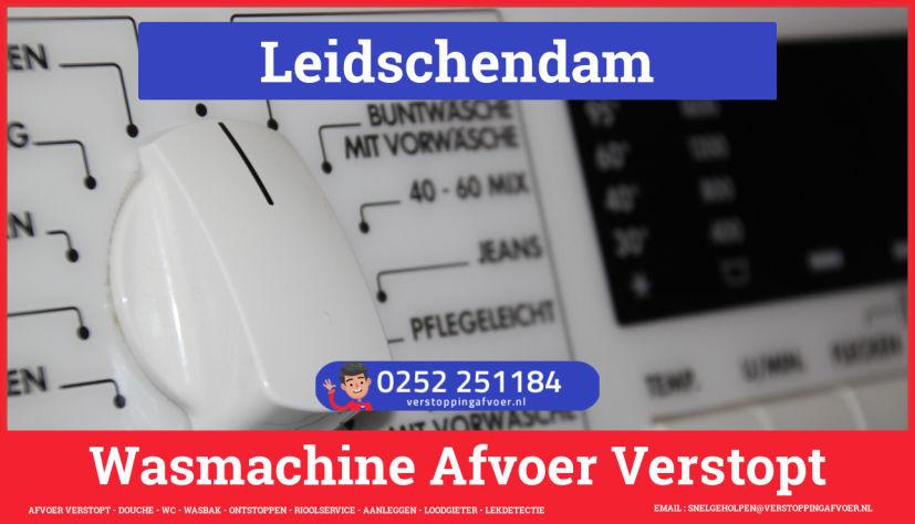 rioolservice wasmachine afvoer ontstoppen in Leidschendam