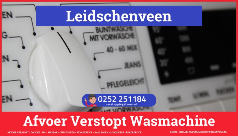 rioolservice afvoer ontstoppen wasmachine in Leidschenveen