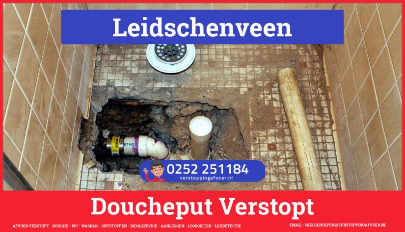 Doucheputje ontstoppen Leidschenveen