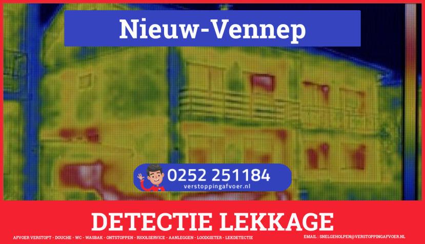 eb rioolservice lekdetectie in Nieuw-Vennep