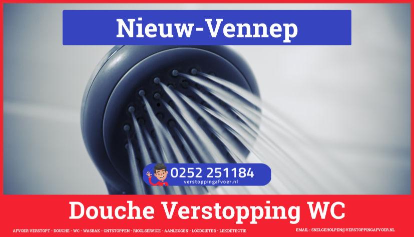 Doucheputje ontstoppen Nieuw-Vennep