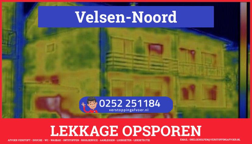 eb rioolservice lekdetectie in Velsen-Noord