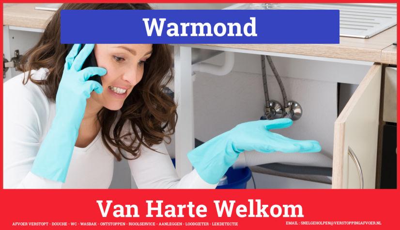 Afvoer Verstopt Warmond Rioolservice