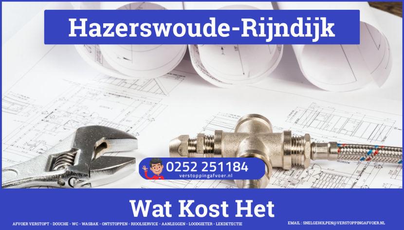 rioolservice afvoer van cv ketel verstopt in Hazerswoude-Rijndijk