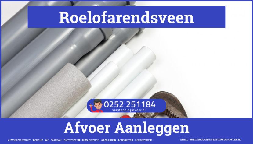 rioolservice afvoer van cv ketel verstopt in Roelofarendsveen