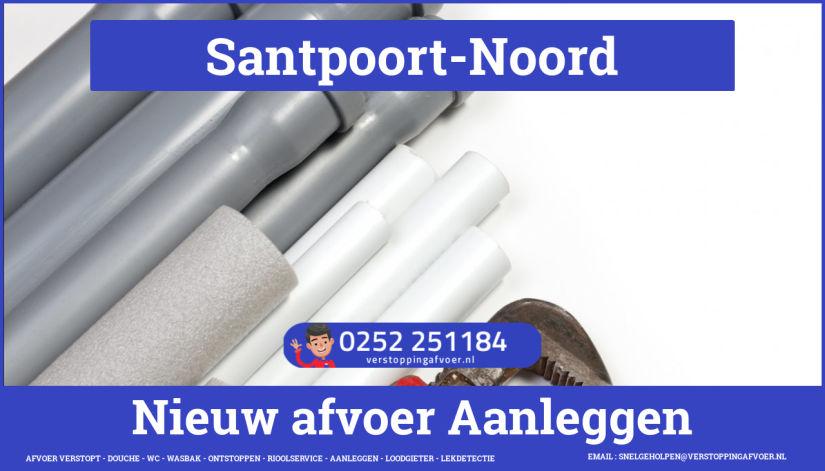 rioolservice cv ketel afvoer verstopt in Santpoort-Noord