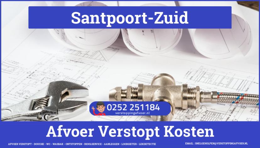 rioolservice cv ketel afvoer verstopt in Santpoort-Zuid