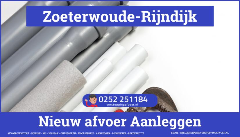 rioolservice afvoer van cv ketel verstopt in Zoeterwoude-Rijndijk