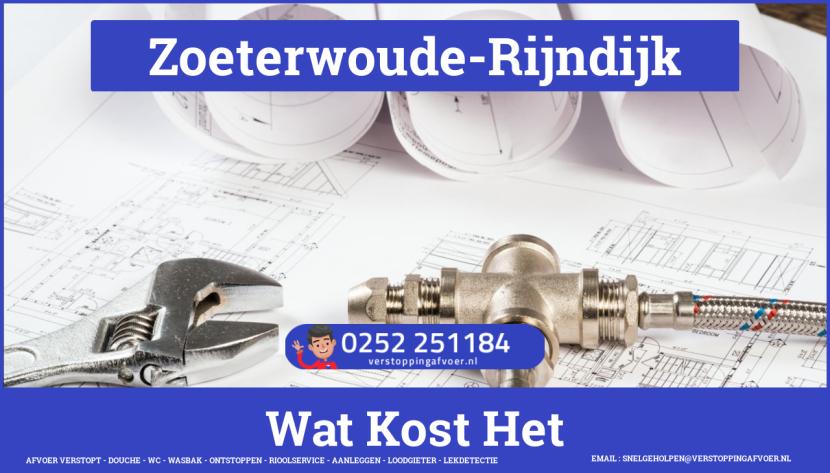 rioolservice cv ketel afvoer verstopt in Zoeterwoude-Rijndijk