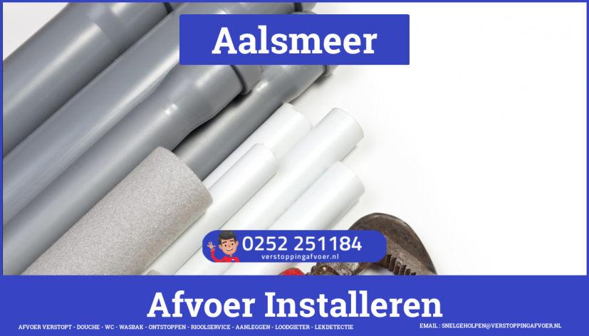 rioolservice afvoer van cv ketel verstopt in Aalsmeer