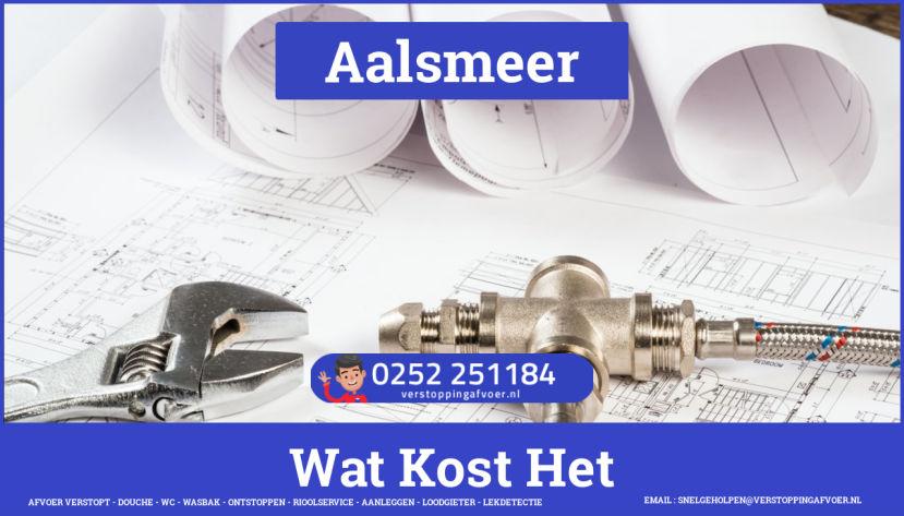 rioolservice afvoer verstopt cv ketel in Aalsmeer