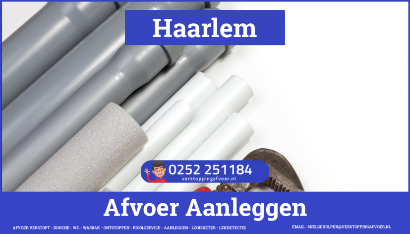 rioolservice cv ketel afvoer verstopt in Haarlem