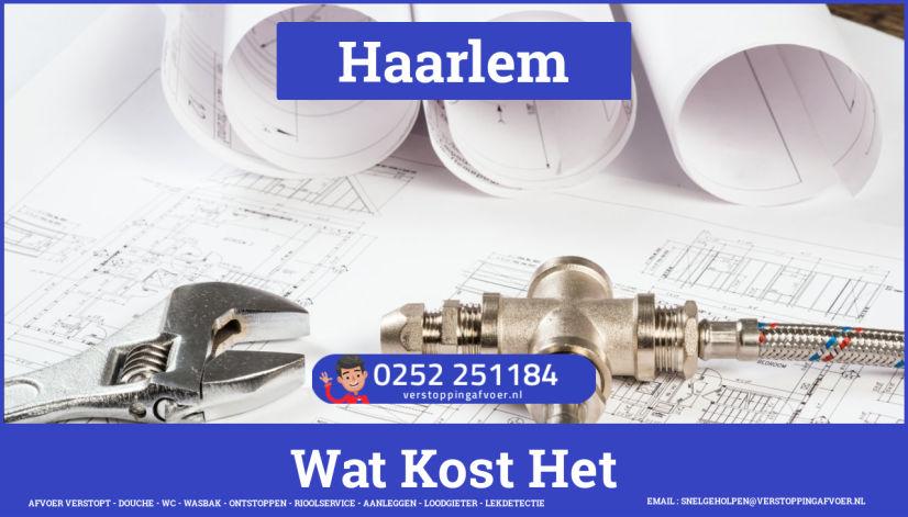 rioolservice afvoer van cv ketel verstopt in Haarlem