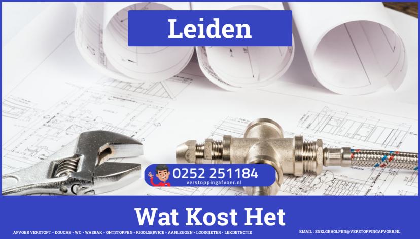 rioolservice afvoer verstopt cv in Leiden