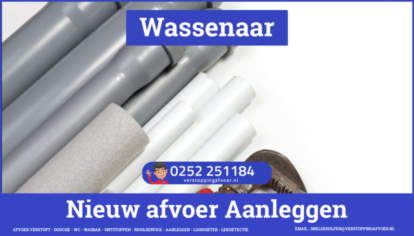rioolservice cv ketel afvoer verstopt in Wassenaar