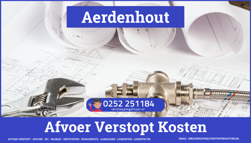 rioolservice cv ketel afvoer verstopt in Aerdenhout