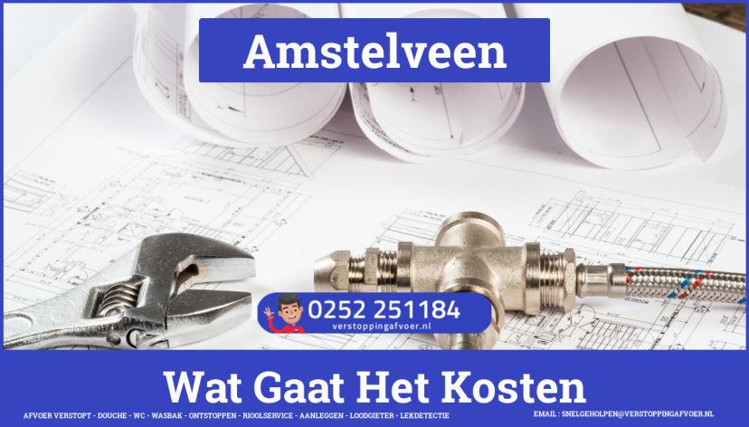 rioolservice cv ketel afvoer verstopt in Amstelveen
