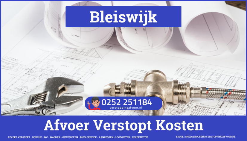 rioolservice afvoer verstopt cv ketel in Bleiswijk