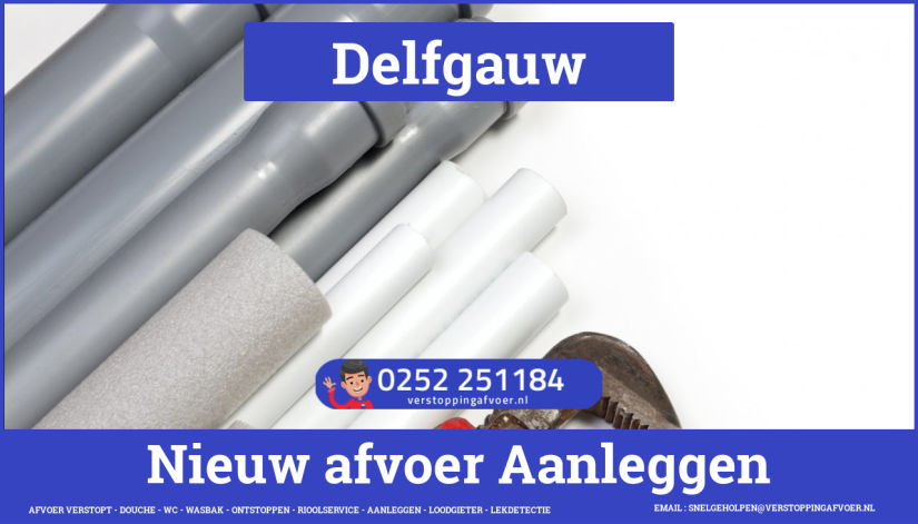 rioolservice cv ketel afvoer verstopt in Delfgauw